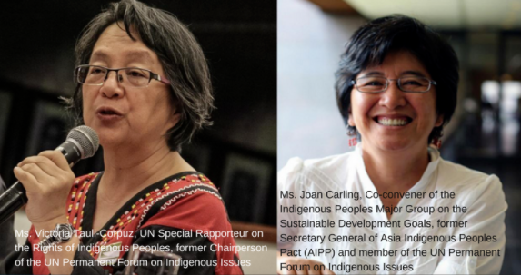 Stop the harrassment and intimidation of indigenous peoples leaders and human rights defenders