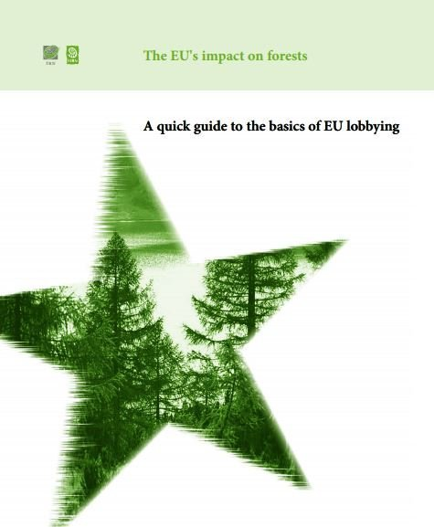 The EUs impact on forests - A quick guide to the basics of EU lobbying