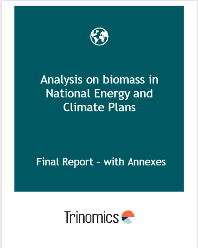 Analysis on biomass in National Energy and Climate Plans