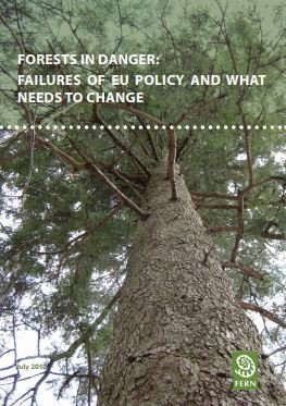 Forests in danger: failures of EU policy and what needs to change