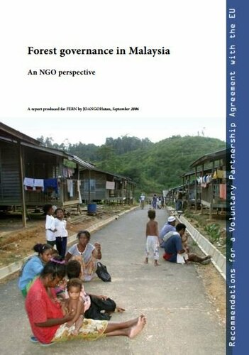 Forest governance in Malaysia, recommendations for a VPA