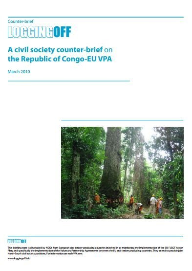 A civil society counter-brief on the Congo-EU VPA