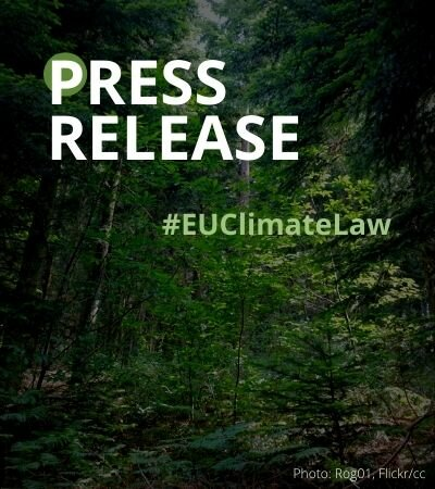 European Parliament confirms climate ambition, rejects delaying action with forests