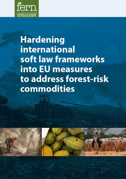 Hardening international soft law frameworks into EU measures to address forest-risk commodities