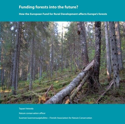 Funding forests into the future. The case of Mainland Finland.