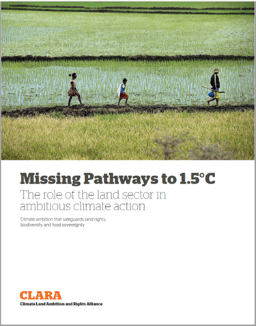 Missing Pathways to 1.5°C: The role of the land sector in ambitious climate action
