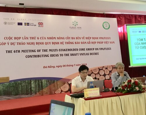 Draft Decree of Vietnam's timber legality system lacks teeth says the Vietnamese NGO FLEGT network