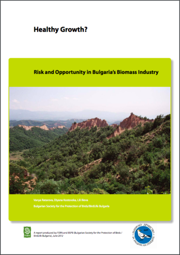 Healthy Growth? Risk and Opportunity in Bulgaria's Biomass Industry