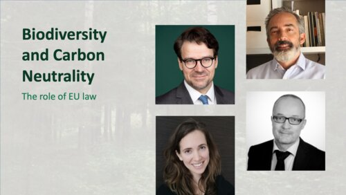 Biodiversity and Carbon Neutrality: The role of EU law