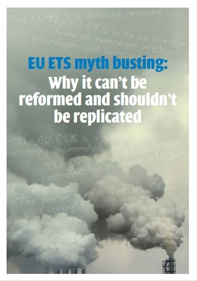 EU ETS myth busting: Why it can't be reformed and shouldn't be replicated