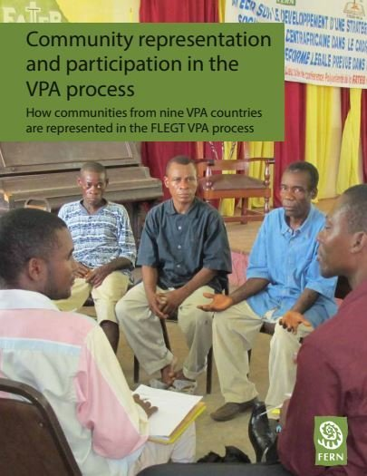 Community representation and participation in the VPA process