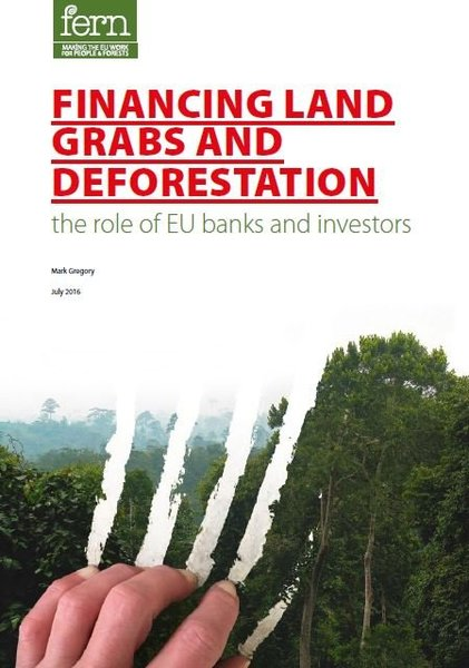 Financing land grabs and deforestation: The role of EU banks and investors