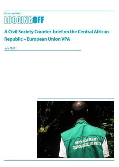 Central African Republic civil society counterbrief