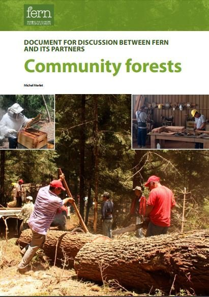 Community forests: A discussion document for Fern and partners