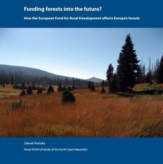 Funding forests into the future. The case of Czech Republic.