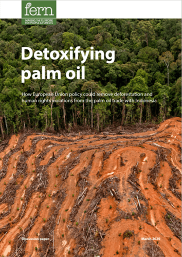 Detoxifying palm oil