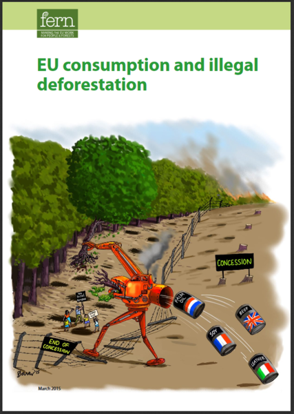 EU consumption and illegal deforestation