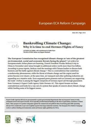 Bankrolling Climate Change: Why it is time to end Hermes flights of fancy