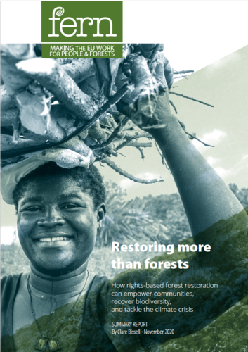 Restoring more than forests - SUMMARY REPORT