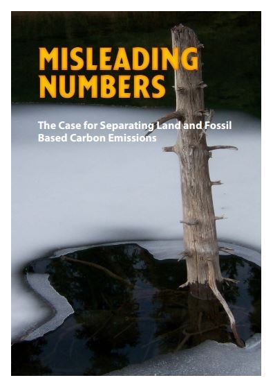 Misleading numbers: The Case for Separating Land and Fossil Based Carbon Emissions